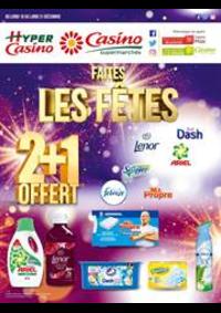 Prospectus Supermarchés Casino PARIS 352 RUE LECOURBE : Faites les fêtes