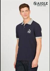 Prospectus Aigle PARIS 1 avenue des Ternes : Polos & T-shirts Homme