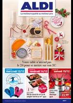 Prospectus Aldi : C'est tous les jours Noël