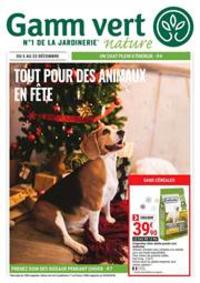 Prospectus Gamm vert BOURBONNE LES BAINS : Tout pour des animaux en fête