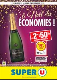 Prospectus Super U La Chapelle Des Marais : Le noël des économies