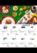 Prospectus Carrefour Drive : Repas de Fête
