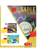 Prospectus Gifi : Table de fête
