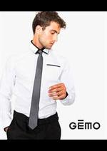 Prospectus Gemo : Tenues de Fêtes / Homme