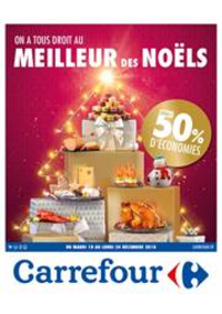 Prospectus Carrefour CHARENTON LE PONT : On a tous le droit au meilleur des noëls - Jusqu'à 50% d'économies