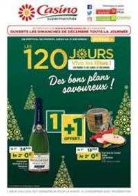 Prospectus Supermarchés Casino PARIS : Des bons plans savoureux !