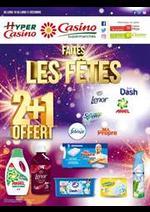 Prospectus Supermarchés Casino : Faites les fêtes