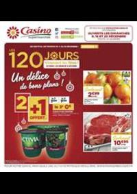Prospectus Supermarchés Casino PARIS 32 Boulevard Vaugirard : Un délice de bons plans !