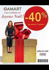 Prospectus Damart PARIS 8 : Joyeus Noël