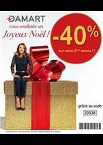 Prospectus Damart : Joyeus Noël