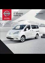Promos et remises  : Nissan e-NV200-EVALIA