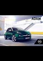 Promos et remises  : Opel Adam