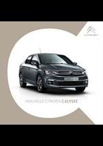 Promos et remises  : Citroën C-Elysee