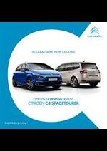 Prospectus Citroen : Citroën C4 Picasso - Citroën C4 Spacetourer