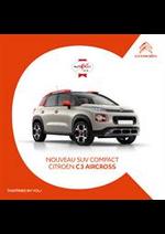 Prospectus  : Citroën C3 Aircross