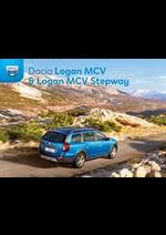 Prospectus Dacia : Dacia Logan MCV y Logan MCV Stepway