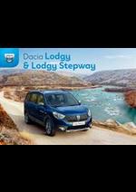Promos et remises  : Dacia Lodgy & Lodgy Stepway