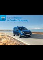 Promos et remises  : Dacia Dokker & Dokker Stepway