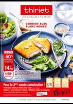 Prospectus Thiriet : Cordon bleu, blanc rouge!