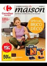 Prospectus Carrefour Market : Le rendez-vous de la maison. Des prix qui donnent envie de tout réaliser.
