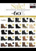 Prospectus Berca Shoes : Sale!