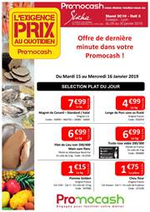Prospectus Promocash : Exigence prix semaine 03 Dernière minute !