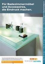 Prospectus Coop Brico+Loisirs : Für Badezimmermöbel und Accessoires, die Eindruck machen