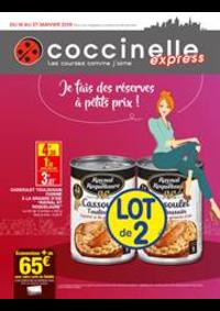 Prospectus Coccinelle Express ERMONT : Je fais de réserves à petits prix!