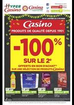 Prospectus Supermarchés Casino : Produits de qualité depuis 1901