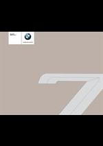 Journaux et magazines BMW : BMW Serie7