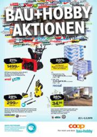 Prospectus Coop Brico+Loisirs Bern : Bau+Hobby Aktionen