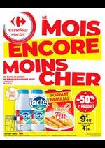 Prospectus Carrefour Market : Le mois encore moins cher 4
