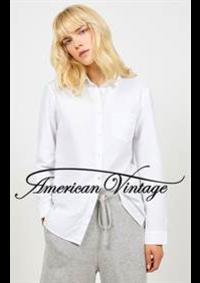 Prospectus American Vintage nogent sur marne : Chemise Femme