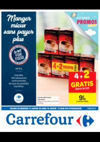 Prospectus Carrefour Drive DROGENBOS : Manger mieux sans payer plus