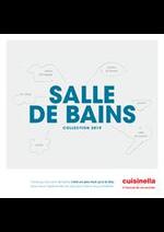 Prospectus cuisinella : Catalogue Salle De Bains 2019