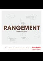 Prospectus cuisinella : Catalogue Rangements 2019