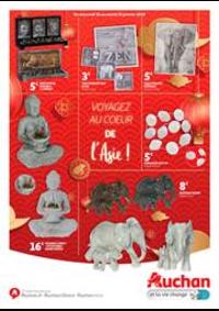 Prospectus Auchan : Voyagez au cœur de l'Asie !