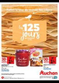 Prospectus Auchan Val d'Europe Marne-la-Vallée : Faites le tour du monde des crêpes