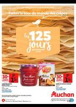 Prospectus Auchan : Faites le tour du monde des crêpes