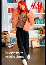 Prospectus H&M : H&M Happy new resolutions