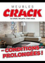 Prospectus Meubles Crack : Conditions Prolongées