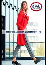 Prospectus C&A : Tenues classiques & intemporelles