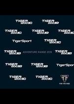Prospectus Triumph : Adventure Range 2019