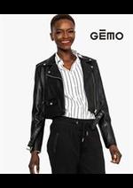 Prospectus Gemo : Nouvelle Collection Femme