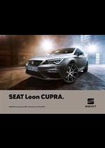 Prospectus Seat : Seat Leon Cupra