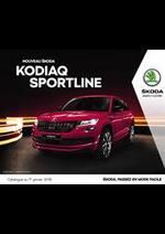 Prospectus Skoda : Skoda Kodiaq Sporline