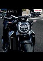 Journaux et magazines Honda France : Ville & Route