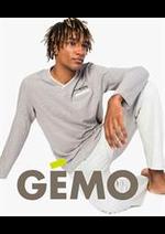 Prospectus Gemo : Pyjamas Hommes