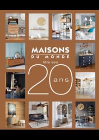 Catalogues et collections Maisons du Monde Louvain La Neuve : Catalogue Maisons du Monde