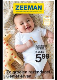 Prospectus Zeeman Jemeppe-Sur-Sambre : Bewaarexemplaar babycollectie